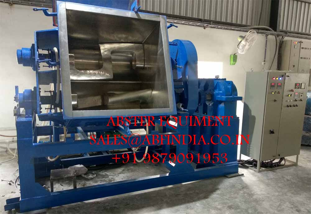Methyl Vinyl Silicone Gum mixing kneader machine